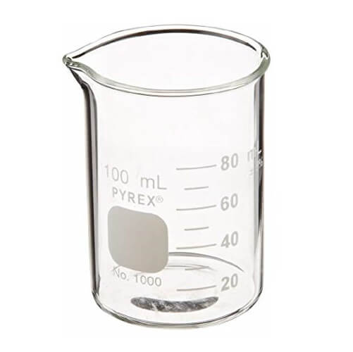 Glass Beaker 100 ML Pyrex